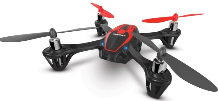 Quadcopter With Free Extra Flight Battery RED