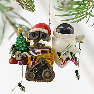 Disney Holiday Wall-E & Eve Ornament