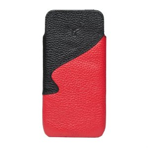 Slim Leather Pouch Case for iPhone 5
