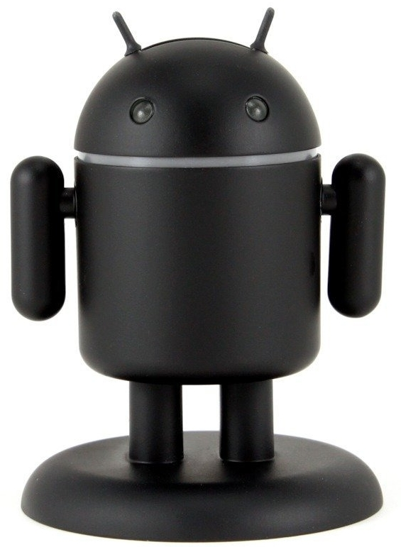 Amazon.com  Andru Dark Edition - Android Robot USB Charger - Retail Packaging - Black - MAIN