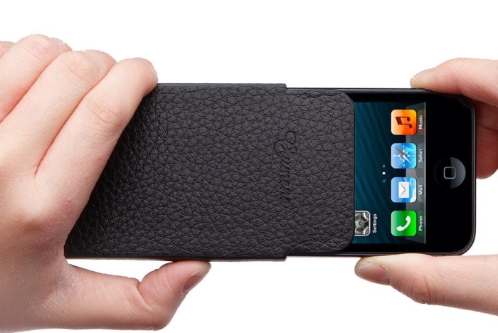 iPhone 5 Case Leather Pouch Slim