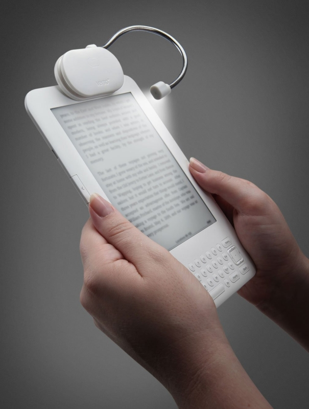 Verso Rechargeable Wrap Light for Kindle, Kindle Touch, and Kindle Keyboard (Paper)