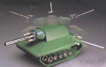 The Tank Tool® 38 Piece Tank Shaped Screwdriver and Socket Set