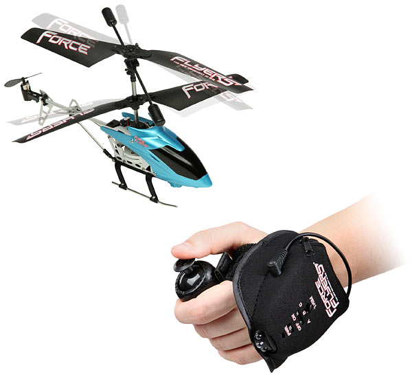 Force Flyer Glove Controlled R/C Copter