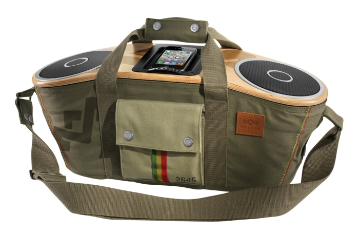 Amazon.com  House of Marley Bag of Rhythm Portable Audio System for iPod and iPhone - PT02