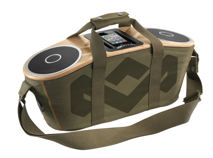 Amazon.com  House of Marley Bag of Rhythm Portable Audio System for iPod and iPhone - PT04