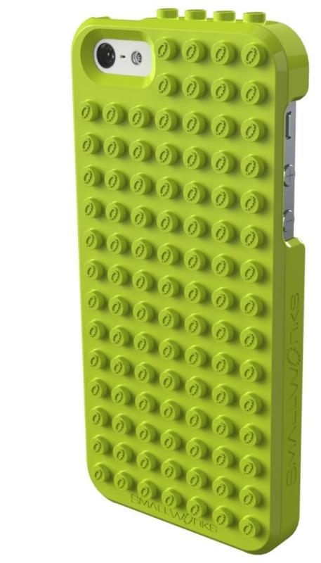 Amazon.com  Smallworks BrickCase for iPhone 5 - Lime - MAIN
