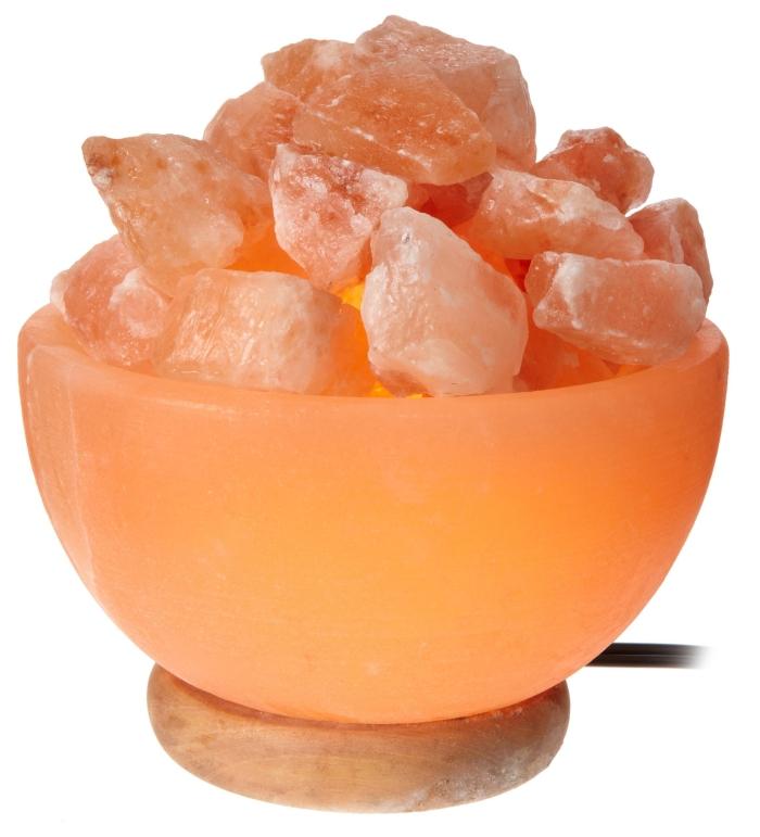 Amazon.com  WBM 1326 6-Inch 15-Watt Round Bowl Lamp with Himalayan Natural Crystal Salt Chunks - MAIN