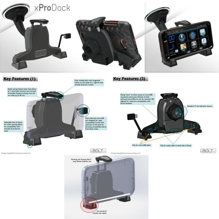 Amazon.com  iBOLT xProDock Kit for Samsung - MAIN