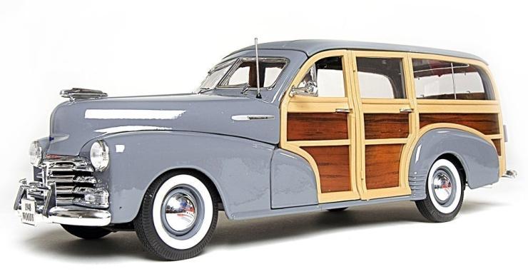 Amazon.com  Maisto Premiere Edition 1 18 1948 Chevrolet Fleetmaster Woody - MAIN