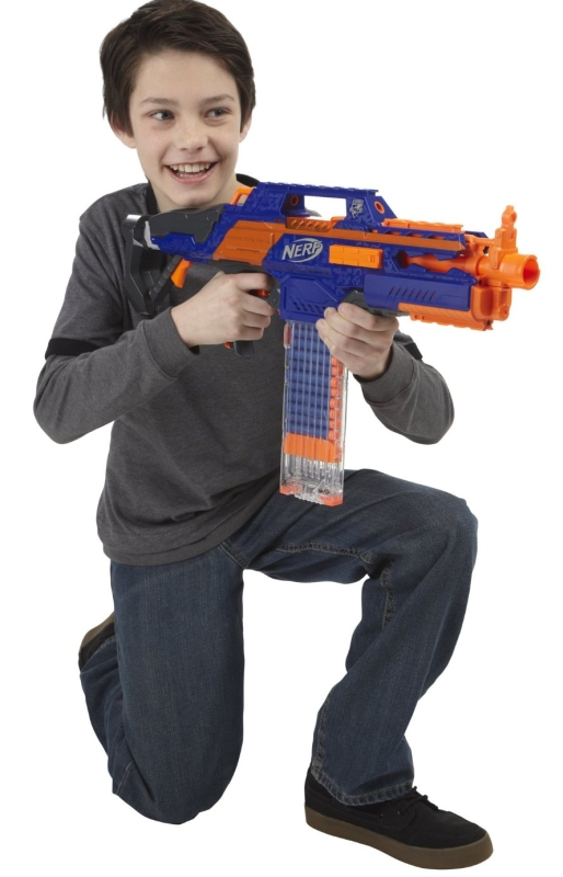 1.Nerf N-Strike Elite Rapidstrike CS-18 Blaster
