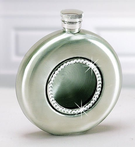 Crystal Chic Round Flask