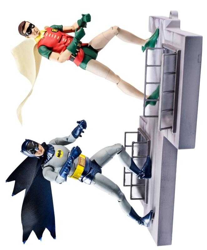 DC Comics Classic TV Series Batman and Robin Action Figure