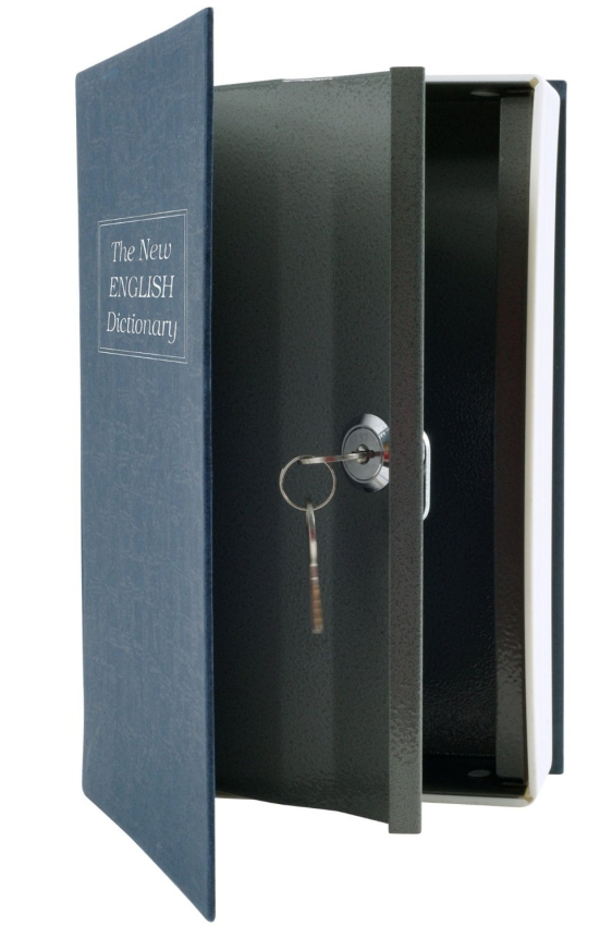 Dictionary Diversion Book Safe with Key Lock