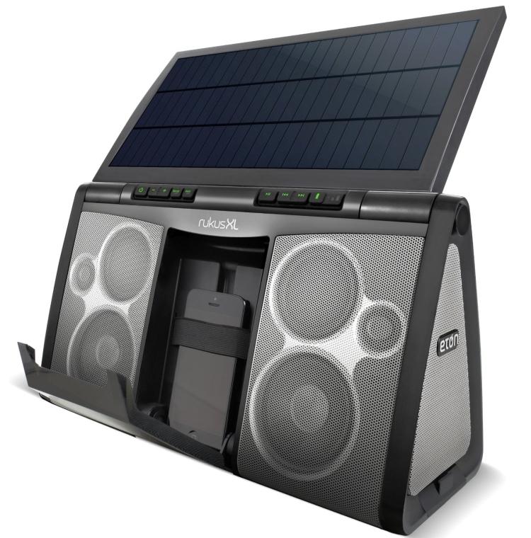 Eton Rukus XL The Portable, Solar Powered