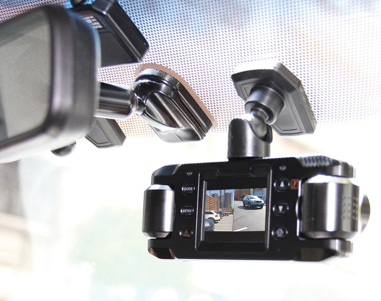 Front and Rear Recording Dash Cam