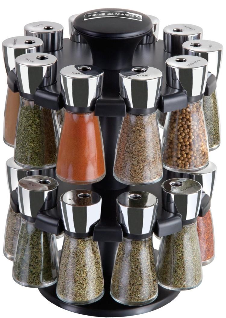Herb and Spice Rack Jar