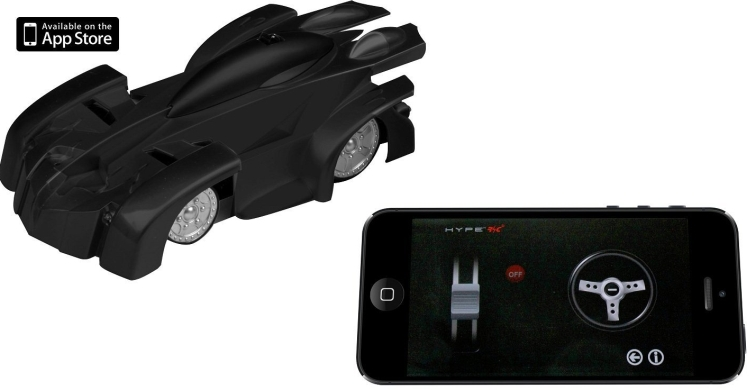 Hype Remote Controlled RC Car Wall Climber