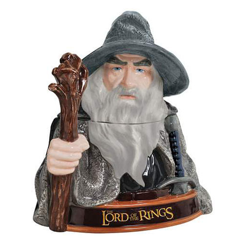 Lord of the Rings Gandalf the Grey Cookie Jar
