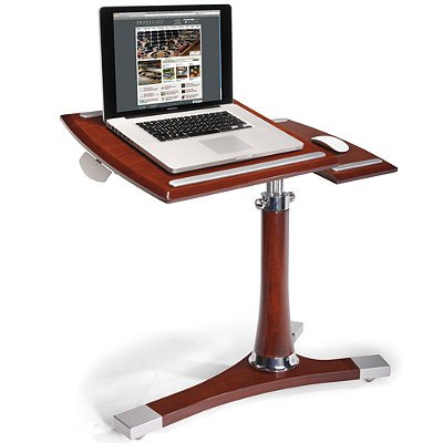 Mahogany Executive Laptop Caddy - Frontgate