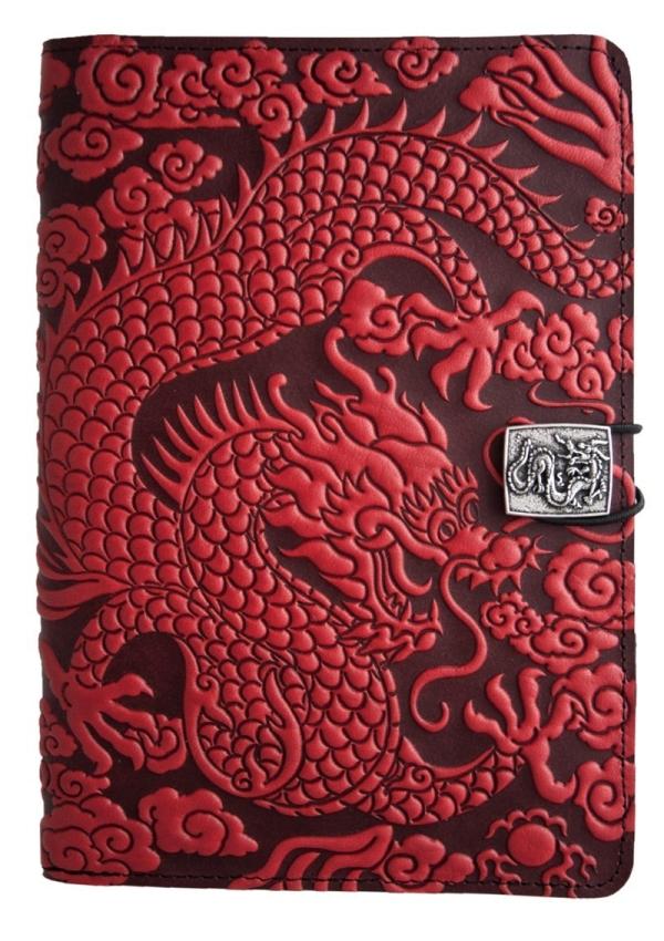 Oberon Design Leather Cloud Dragon iPad Mini Cover