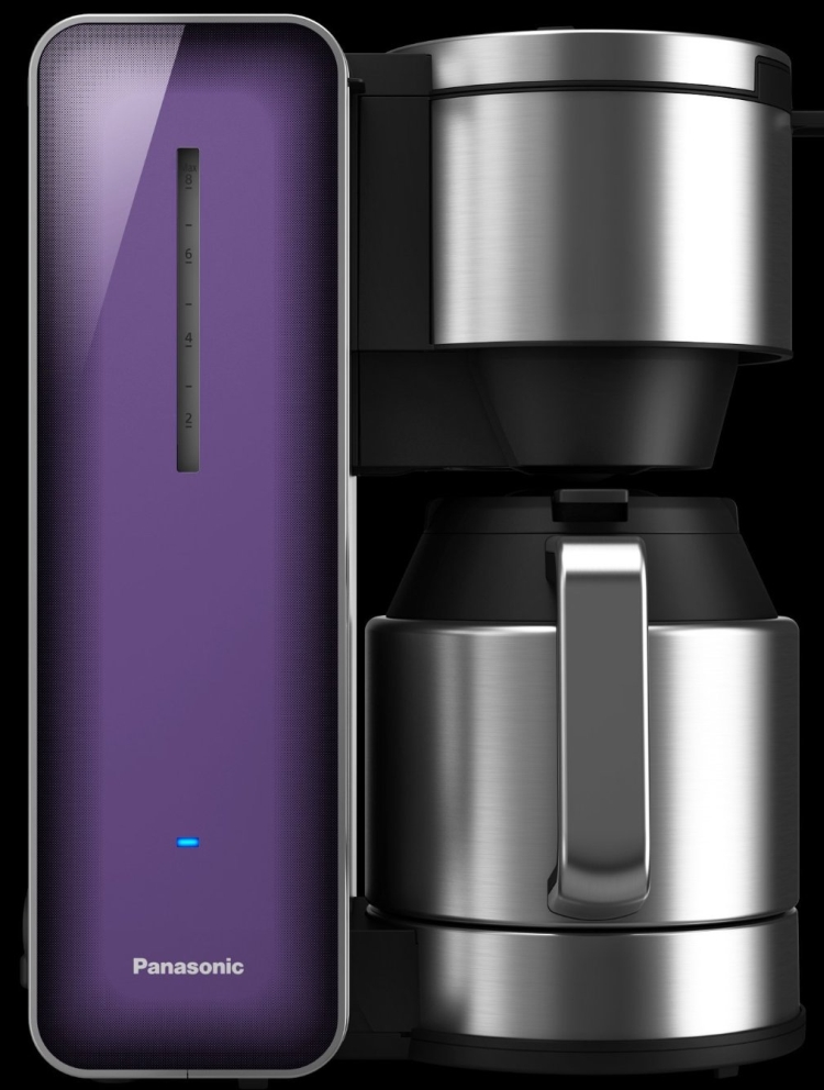 Panasonic Breakfast Collection NC-ZF1V 8-Cup Stainless Steel Coffee Maker