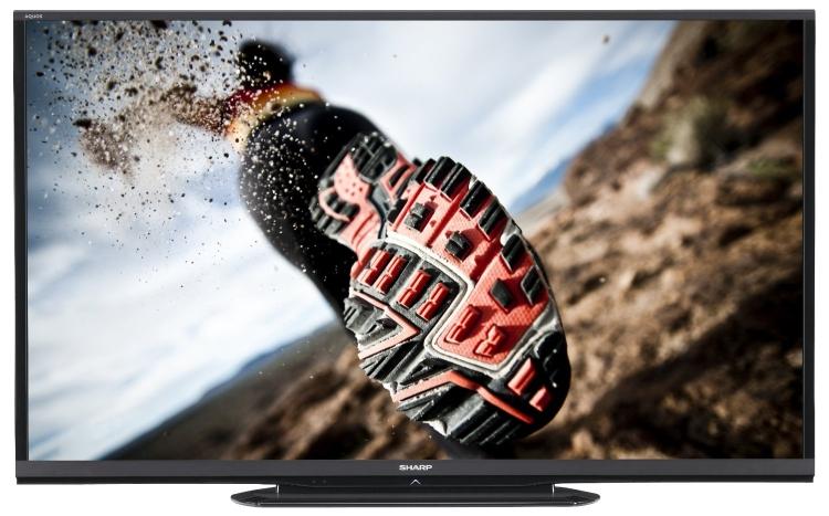 Sharp LC-70LE550 70-inch Aquos 1080p 120Hz LED HDTV