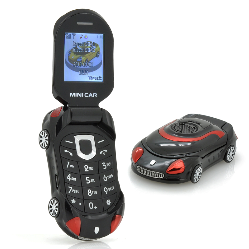 Small Sports Car Mobile Phone Mini Car