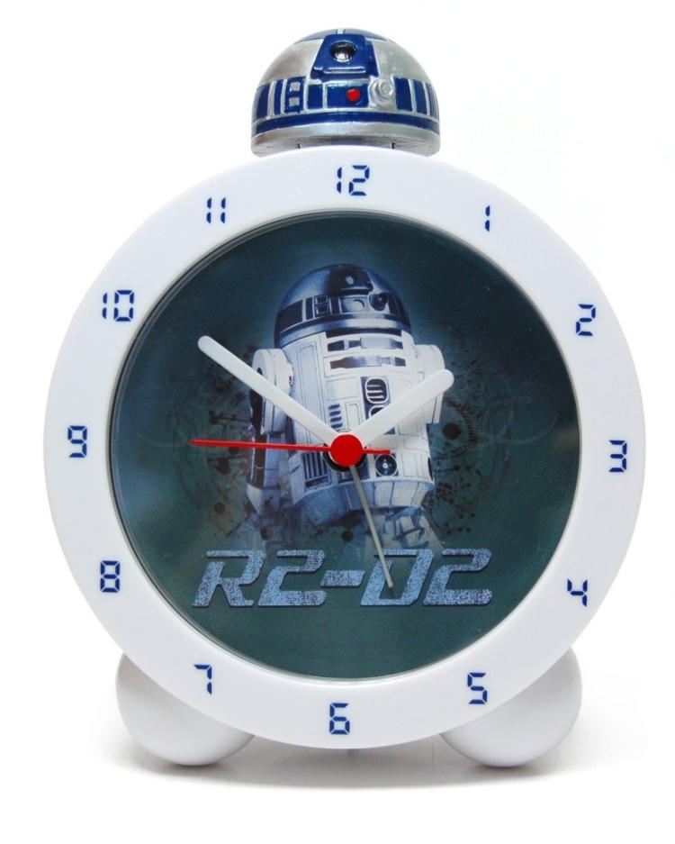Star Wars Alarm Clock with Sound Glow In The Dark