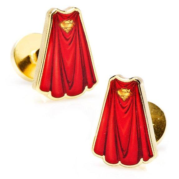 Superman Cape Cufflinks Cuff Links 2