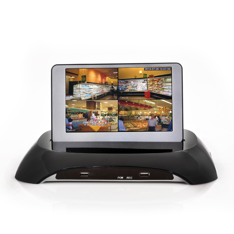 Surveillance System With 7 Inch Detachable LCD