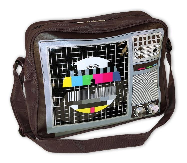 TV Standbild braun