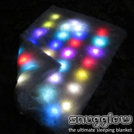 Ultra Soft LED Light Blanket with Auto Shut-Off
