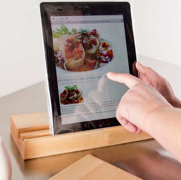 iPad Cutting Board and Stand