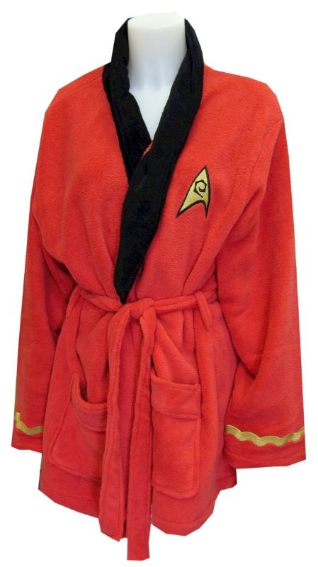 tar Trek Nyota Uhura Plush Robe for women