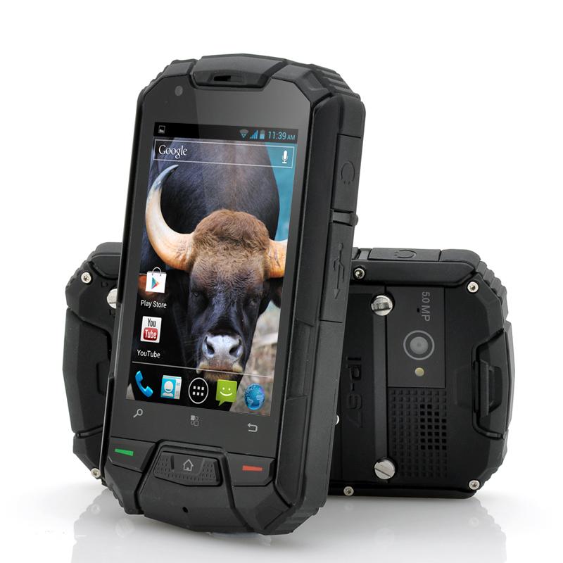 3.5 Inch Ruggedized Android Dual Core Phone Gaur