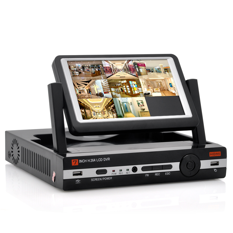 8CH DVR With 7 Inch Screen