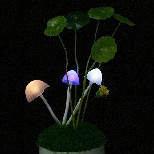 Avatar Multi-color color changing mushroom LED