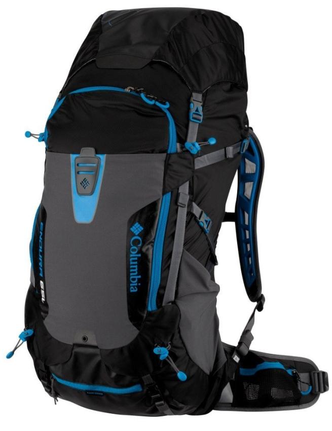 Columbia Endura Black 65 Backpack