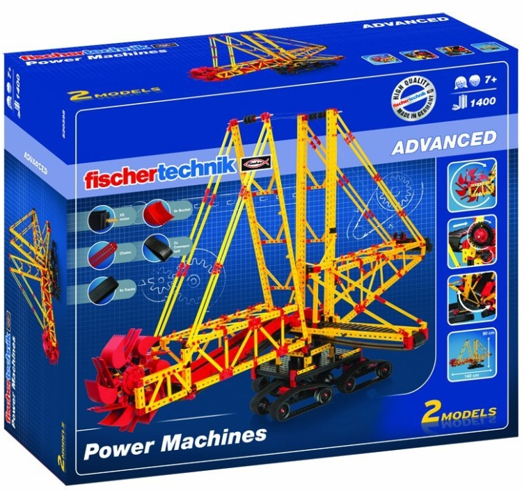 Fischertechnik Advanced Power Machines Kit2