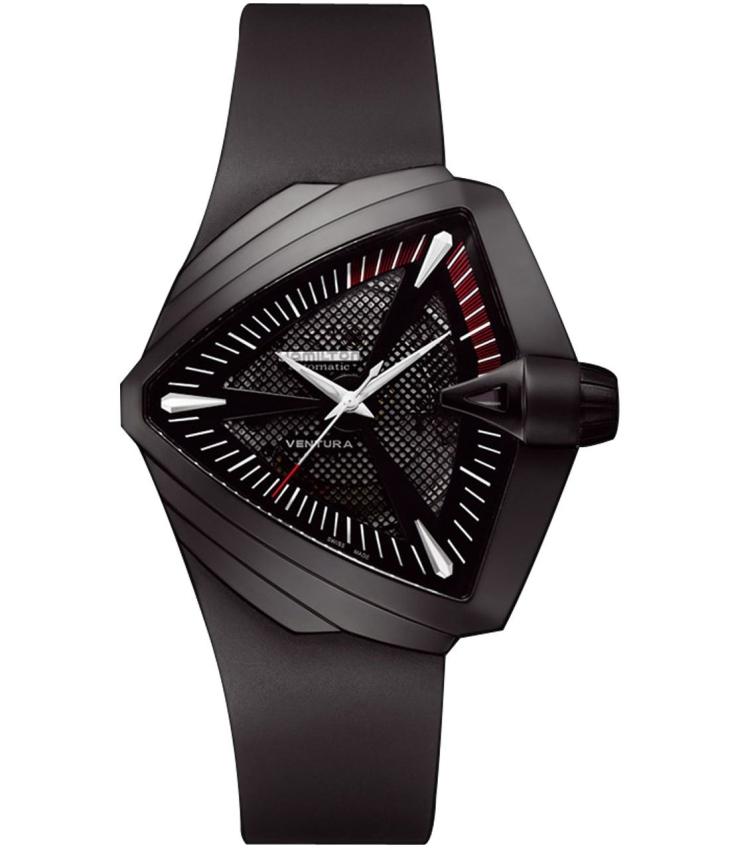 Hamilton Men's Ventura XXL Black Dial Watch