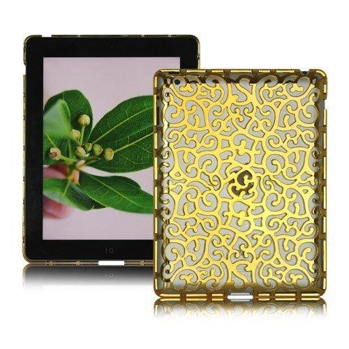 Hollow Pattern Hard Case for iPad 4  iPad 3  iPad 2
