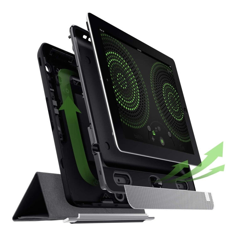 Home Theater Speaker and Case for iPad 4 with