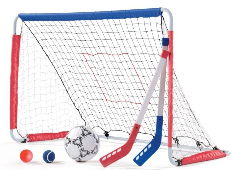Kickback Soccer Goal And Pitch Back