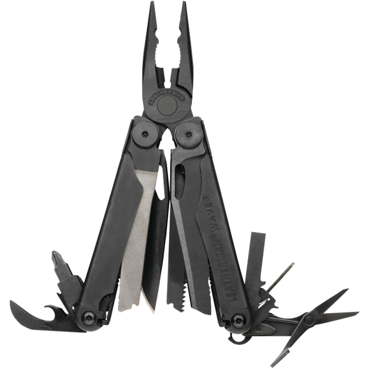 Leatherman Wave Black Oxide Finish Multi Tool