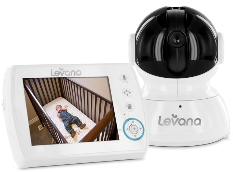 Levana Astra  Digital Baby Video Monitor with Talk to Baby