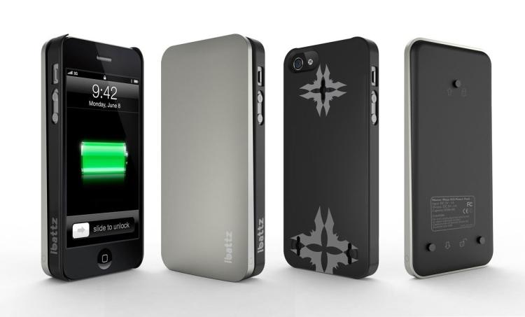 Mojo Hi5 iPhone 5 Battery Case
