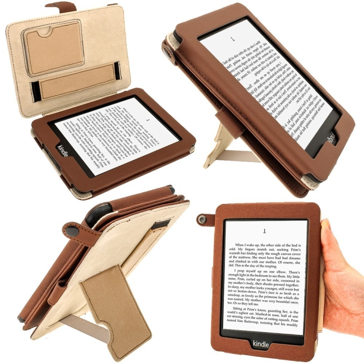 PU Bi-ViewLeather Case Cover for Amazon Kindle PaperWhite 3G