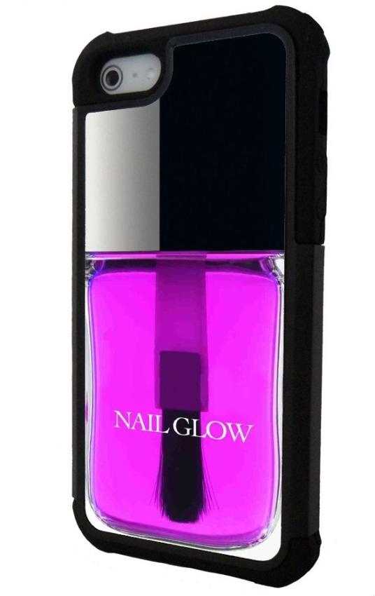 Pink Nail Glow iPhone 5 case