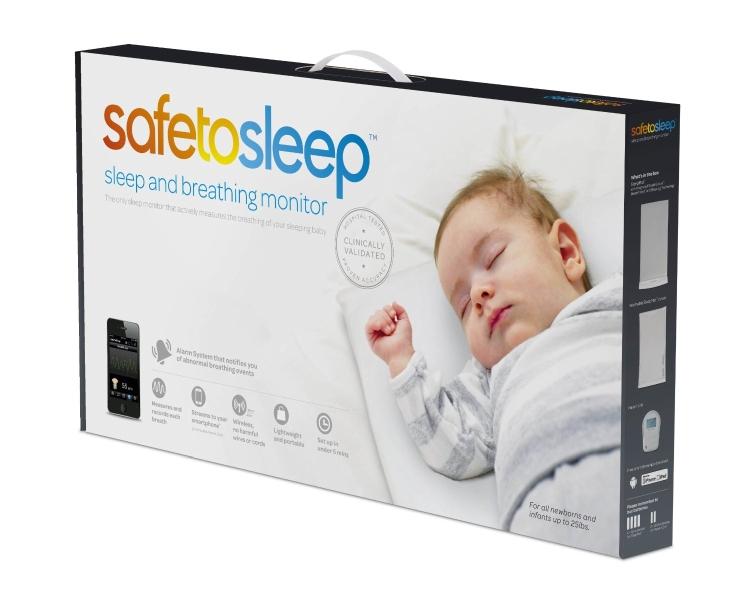 Safe To Sleep Sleep and Breathing Baby Monitor